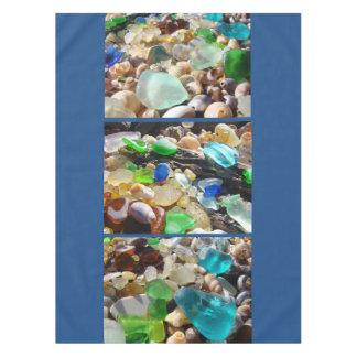 Seaglass Beach Tablecloths Coastal Wedding House Tablecloth