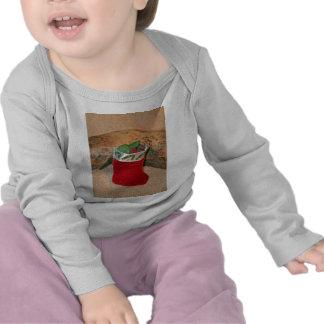 Seaglass Christmas Stocking Tee Shirt