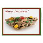 Seaglass Fruitcake Christmas Card