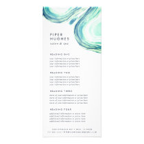 Seaglass Geode | Services or Price List Rack Card