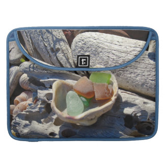 Seaglass MacBook sleeves gifts Beach Coast Shells Sleeves For MacBooks