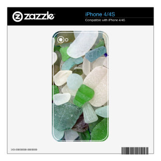 Seaglass Serendipity Decal For The iPhone 4S