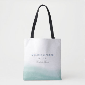 Seaglass Tides Destination Wedding Tote Bag