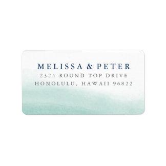Seaglass Tides Return Address Label