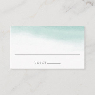 Seaglass Tides Wedding Escort Place Cards