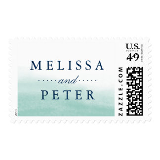 Seaglass Tides Wedding Postage