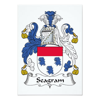 Seagram Family Crest Cards