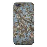 Seagrape plant, pinhole camera style, blue sky case for iPhone 5