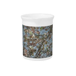 Seagrape plant, pinhole camera style, blue sky pitcher