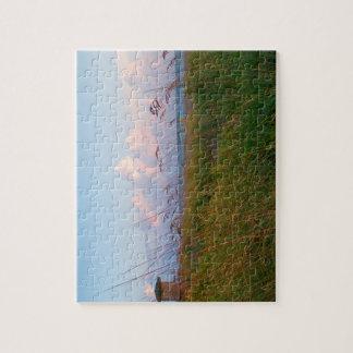seagrass beach dunes florida lifeguard house jigsaw puzzles