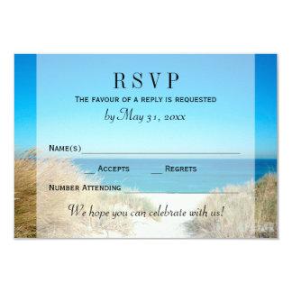 Seagrass Beach Wedding RSVP Response Card