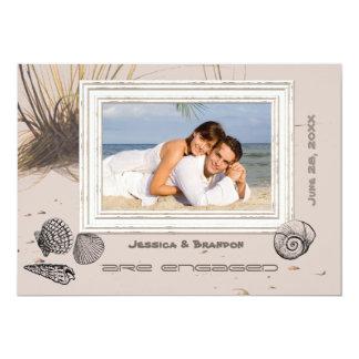 Seagrass Photo Announcement/Invitation 5x7 Paper Invitation Card