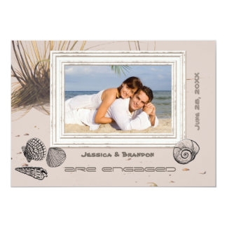 Seagrass Photo Announcement/Invitation Card
