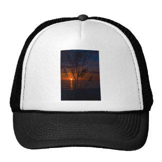 Seagrass Sunset Silhouette Trucker Hat