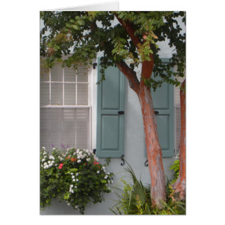 Seagreen Shutters Card