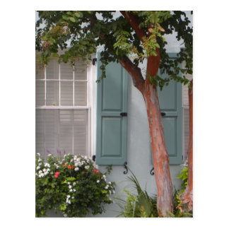 Seagreen Shutters Post Card