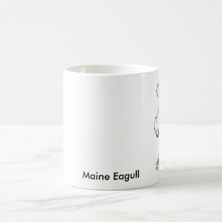 Seagull-1, Maine Eagull Mugs