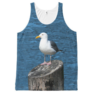 SEAGULL All-Over PRINT TANK TOP