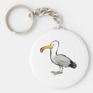 Seagull au naturel keychain