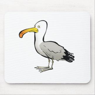 Seagull au naturel mouse pad