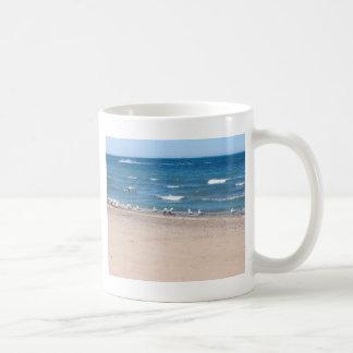 SEAGULL BEACH COFFEE MUG