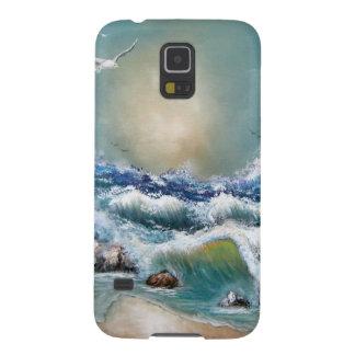 Seagull Beach Design Galaxy S5 Case