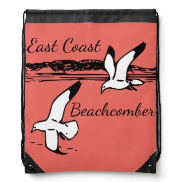 Beach Themed Seagull Beach East Coast Beachcomber Bag