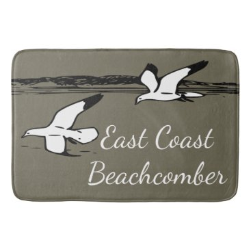 Seagull Beach East Coast Beachcomber Bathroom mat