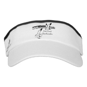 Beach Themed Seagull Beach East Coast Beachcomber hat visor