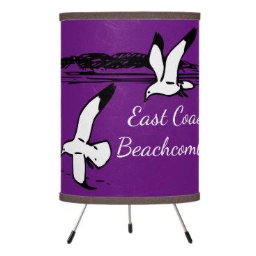 Beach Themed Seagull beach East Coast Beachcomber lamp