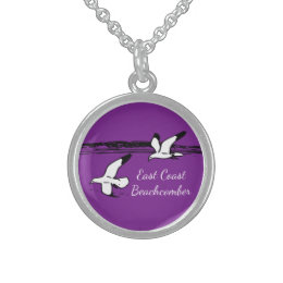 Seagull Beach East Coast Beachcomber necklace