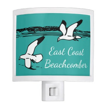 Beach Themed Seagull Beach East Coast Beachcomber night light