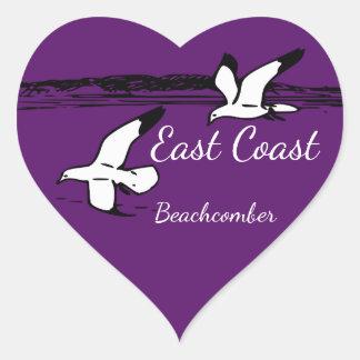 Seagull Beach East Coast Beachcomber sticker