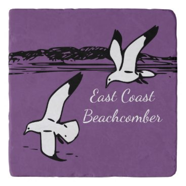 Beach Themed Seagull Beach East Coast Beachcomber trivet