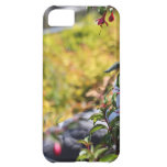 Seagull behind a field of flowers iPhone 5C covers