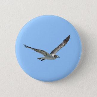 Seagull Bird Button