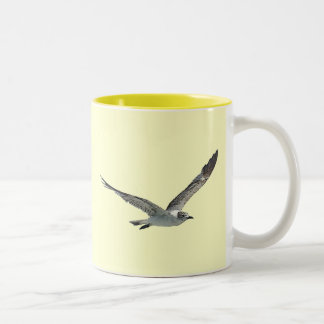 Seagull Bird Two-Tone Coffee Mug