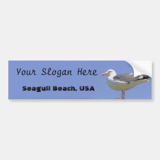 Seagull Bumper Sticker
