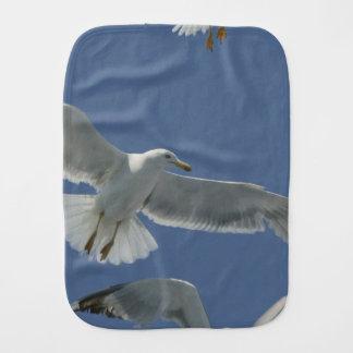 Seagull Burp Cloths