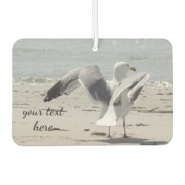 Beach Themed Seagull Car Air Freshener