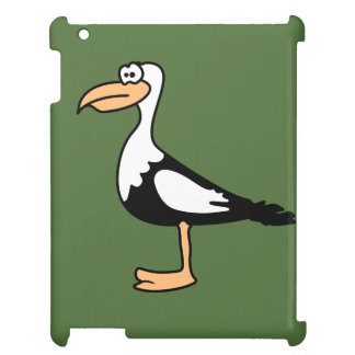 Seagull cute animal motifs iPad case