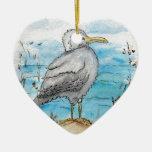 Seagull Design Christmas Ornament