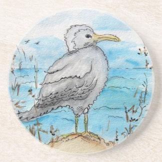 Seagull Design Drink Coaster