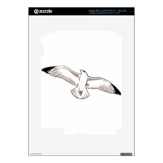 Seagull Drawing iPad 3 Skin