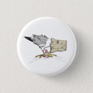 Seagull Fail Button | Funny Bird Illustration