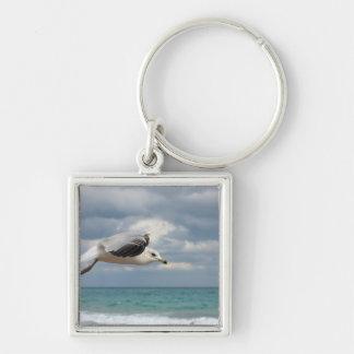 Seagull Flight Keychain