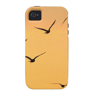 Seagull flying at night Case-Mate iPhone 4 cover