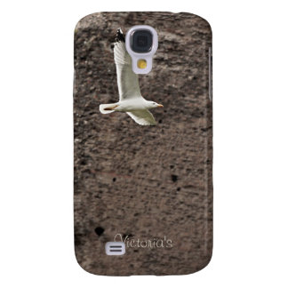 Seagull flying free galaxy s4 cover