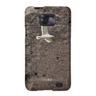 Seagull flying free Samsung Case Galaxy SII Cases