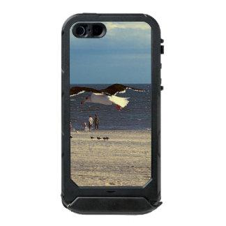 Seagull Flying on Coney Island Beach Incipio ATLAS ID™ iPhone 5 Case
